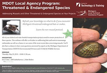 2019 MDOT LAP: Threatened & Endangered Species Webinar -