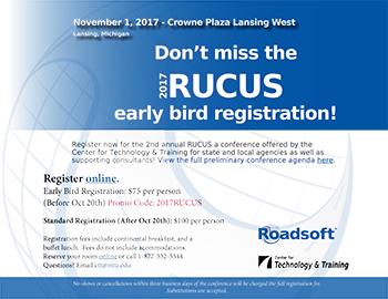 RUCUS 2017 Details