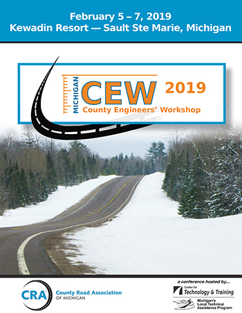 2019 County Engineers Workshop Mark Your Calendar